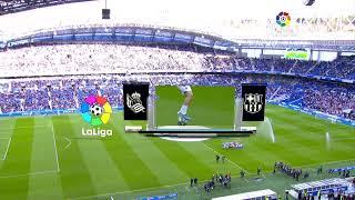 Calentamiento Real Sociedad vs FC Barcelona