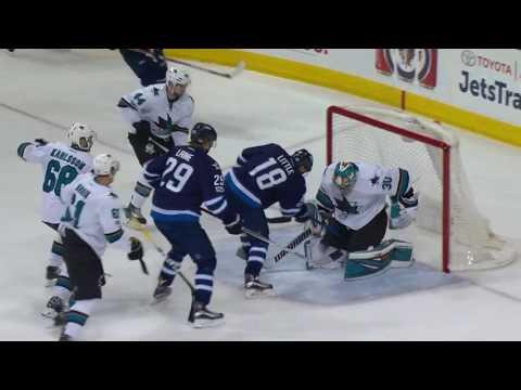 San Jose Sharks vs Winnipeg Jets | January 24, 2017 | Game Highlights | NHL 2016/17