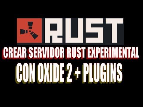 Crear Server Rust Experimental con OXIDE2 y Plugins