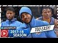 Russell Westbrook, Carmelo Anthony & Paul George BIG 3 Highlights vs Bucks (2017.10.31) - TOO EASY!
