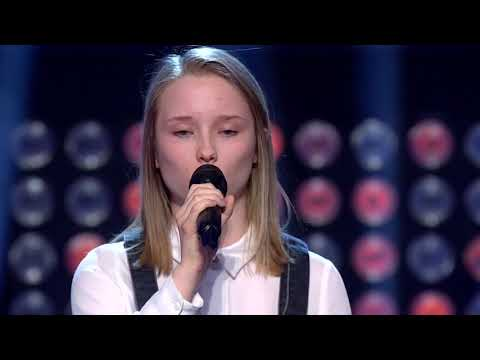 The Voice Norway audition 2017 - Henriette Linja - Somewhere Only We Know