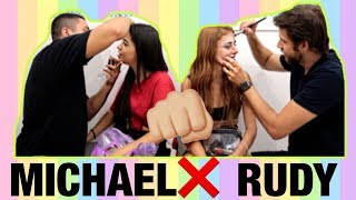QUEM MAQUIOU MELHOR? MICHAEL X RUDY