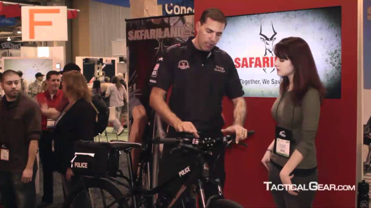 Safariland Tactical Police Bike at SHOT Show 2012