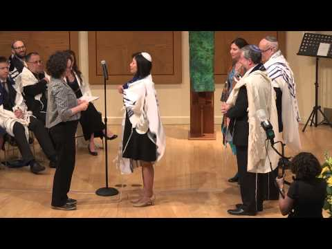 Ceremony of Rabbinical ordination and Cantorial investiture 2015