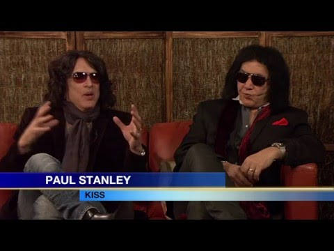 Gene Simmons and Paul Stanley KISS Interview