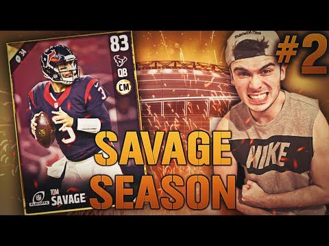 SAVAGE SEASON #2 TOUCHDOWN WITH 1 SECOND LEFT?! MADDEN 17 ULTIMATE TEAM