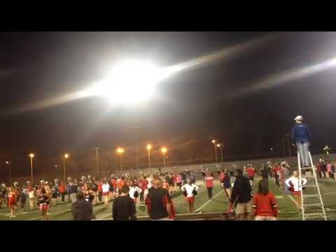 Marching Band 2018 Rose bowl practice, U of Georgia Redcoat Band