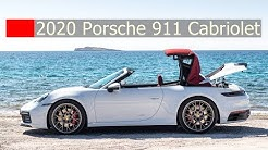 2020 Porsche 911 '992' Cabriolet's Soft Top Open And Close 12 Seconds At 50km/h