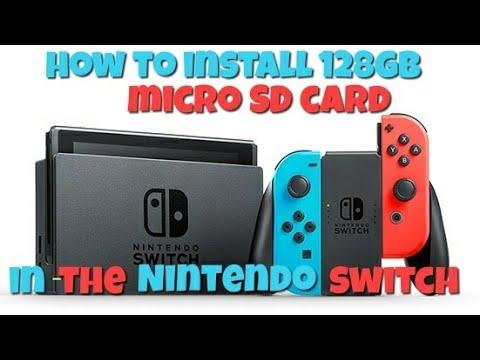 Nintendo Switch 128gb Micro SD Card Install. Will It Work?