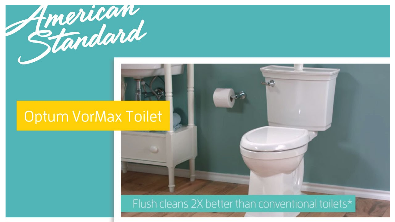 New Optum VorMax Toilet by American Standard - YouTube