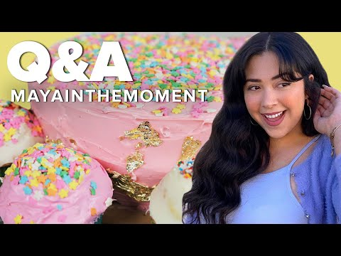 Maya From Pero Like Answers Questions While Decorating Cakes • Tasty