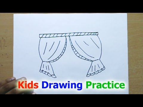 window drawing. how to draw a window screen drawing