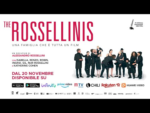 THE ROSSELLINIS DISPONIBILE ON DEMAND!