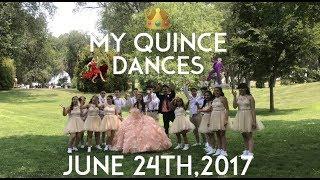 MY QUINCEAÑERA DANCES