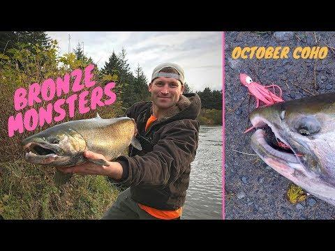 How To Catch Coho Salmon - Hoochie Jig