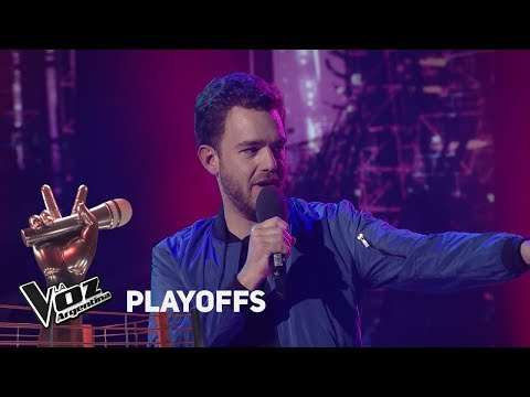 "Playoffs #TeamSole: Agustín canta ""Haven't met you yet"" de Bublé - La Voz Argentina 2018"