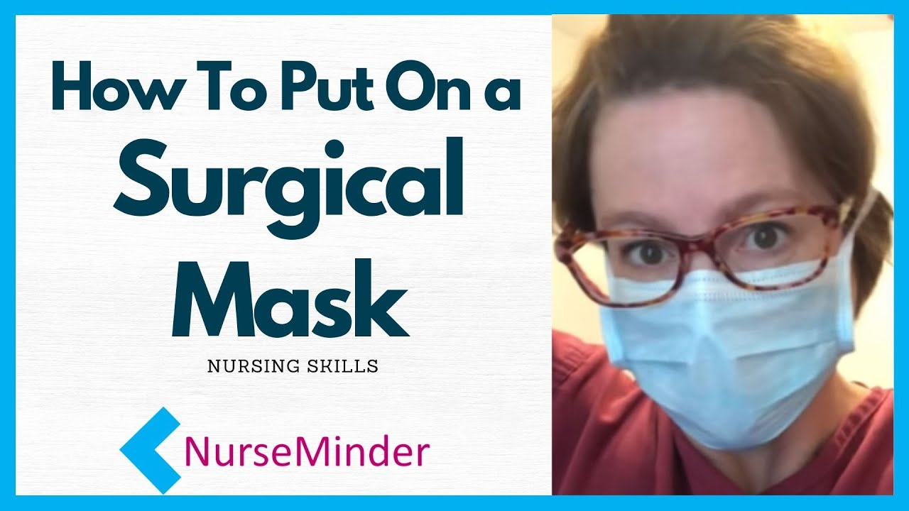 water resistant surgical mask