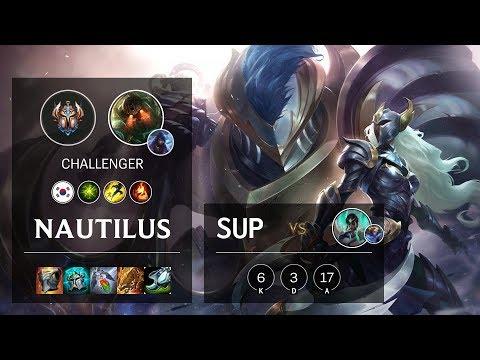 Nautilus Support Vs Karma - KR Challenger Patch 10.10
