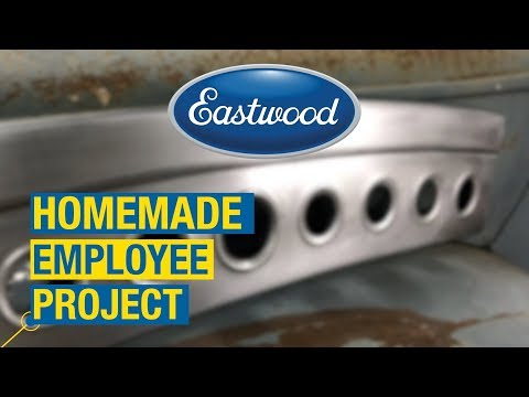 Homemade Employee Project - How To Fabricate A Custom Hot Rod Dashboard - Eastwood