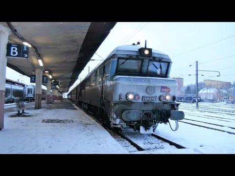 En cabine du CC 72121 de Belfort à Vesoul 15 janvier 2017