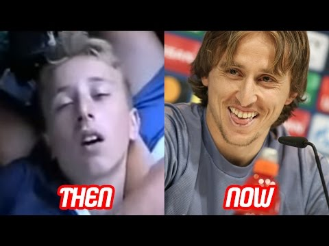 Luka Modric Transformation Then And Now (Face & Hair Style & Teeth) | 2017 NEW