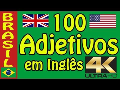 Adjetivos em ingles - A melhor maneira de decorar vocabulário em ingles - HD fotos e som