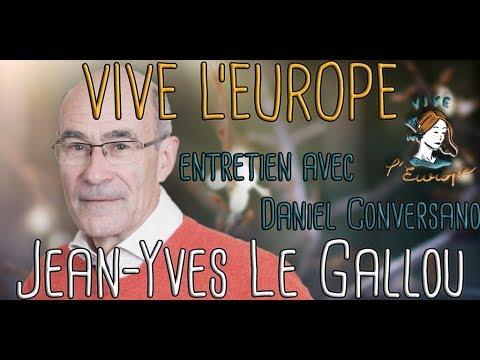 Jean-Yves Le Gallou s'entretient avec Daniel Conversano (Vive L'Europe, mars 2019)
