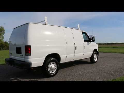 2011 Ford E250 Econoline Cargo Van For Sale~Racks~Divider~Bins~One Owner