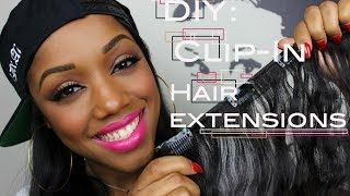 One of Ellarie's most viewed videos: How To Make Clip-In Hair Extensions | Ellarie