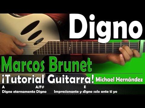 Digno (Cover Acústico). Toma Tu Lugar - Marcos Brunet. Acordes y ...