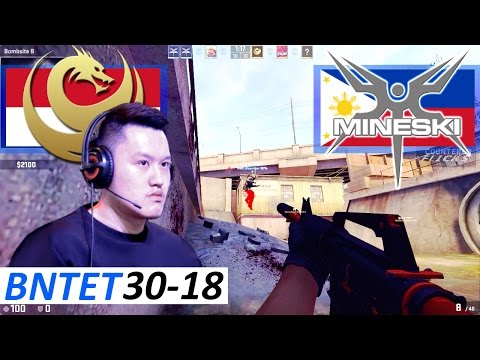 BnTeT 30-18 / Recca vs Mineski / Overpass / CS:GO ESEA Open Season 24 Asia-Pacific