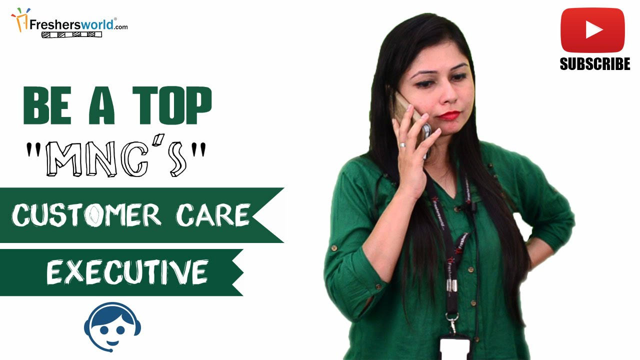 jd for customer care executive