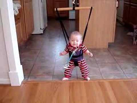 Baby Bungee Jumper Youtube