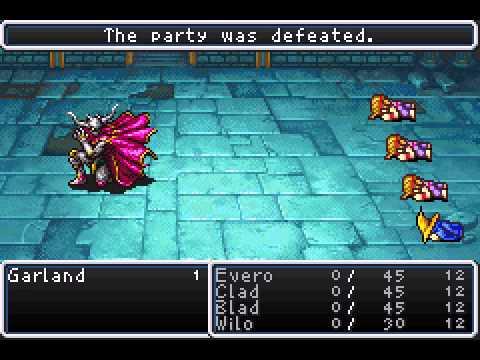 Final Fantasy I And II Dawn Of Souls Mod Of Balance