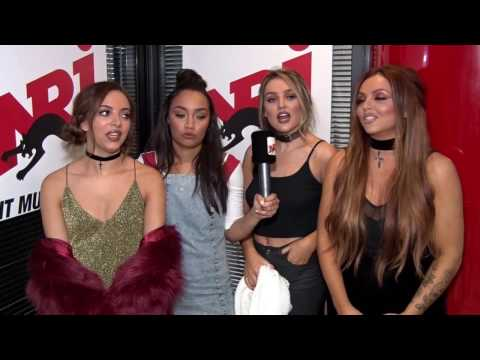 Little Mix Interview at NRJ France - Nov, 24th.