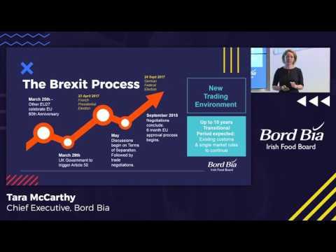 Bord Bia Brexit Barometer - Tara McCarthy