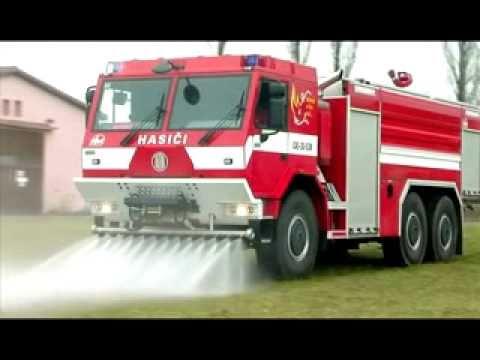 TATRA  tűzoltó gépjármű
