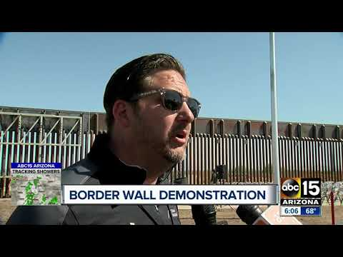 Coolidge Company says it can build the border better, faster and cheaper than anyone