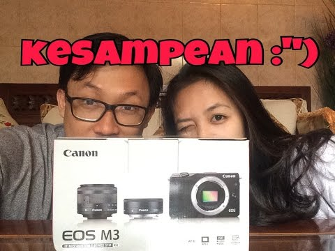 #HappyVlog 1: KESAMPEAN!! + UNBOXING CANON EOS M3! (INDONESIA)