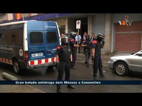 VOTV - Gran batuda antidroga dels Mossos a Canovelles