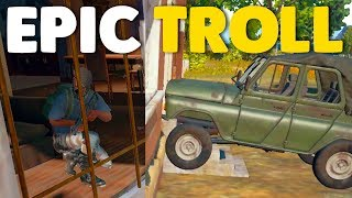TRAPPING PLAYERS IN HOUSES   PUBG (Battlegrounds)