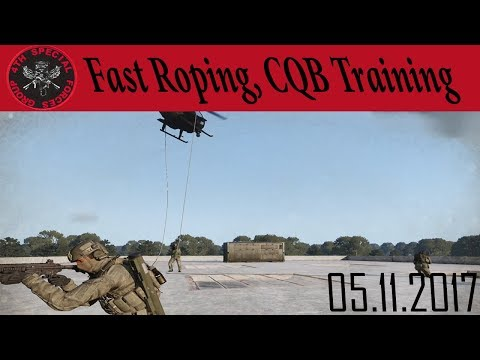 SF Fast Roping Training - Arma 3 4th Special Forces Group