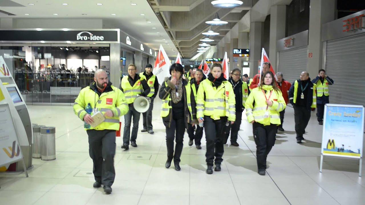 Streik Köln Bonn Flughafen