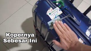 PAGI-PAGI BUTA SUDAH KE AIRPORT - TIPS BAWA KOPER RAKSASA KALAU TRAVELING KE JEPANG #1