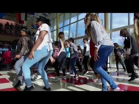 Citadel High's 'Thriller' flash mob