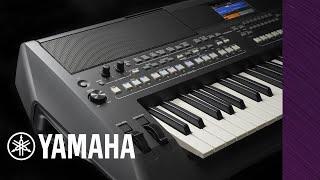 Yamaha - PSR-SX600 Digital Workstation Induction