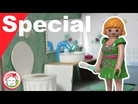 Playmobil deutsch - Pimp my PLAYMOBIL - Badezimmer selber basteln - Familie  Hauser - Familie Hauser