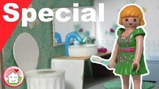 Playmobil deutsch - Pimp my PLAYMOBIL - Badezimmer selber basteln - Familie Hauser - Family Stories