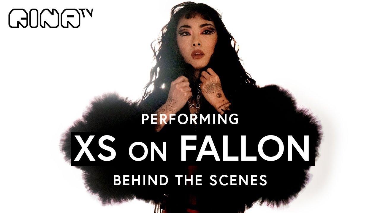 "🧡 RINA x FALLON behind the scenes: How we filmed a ""LIVE"" performance of XS | Rina Sawayama"