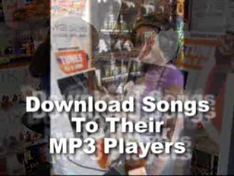 Download Songs Onto Your Childrens' MP3 Players @ Crazy Dee's